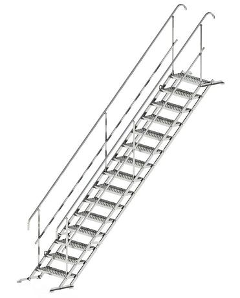 Mobilūs laiptai statyboms ir renginiams